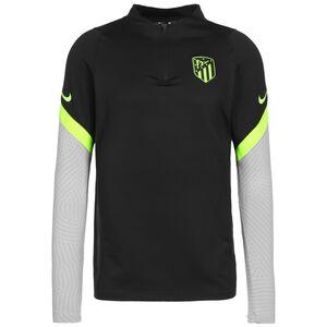 Atletico Madrid Strike Drill Sweatshirt Herren, schwarz / hellgrau, zoom bei OUTFITTER Online