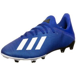 X 19.3 FG Fußballschuh Herren, blau / weiß, zoom bei OUTFITTER Online