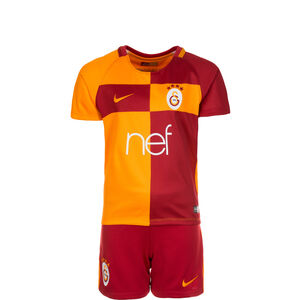 Galatasaray Istanbul Minikit Home Stadium 2017/2018 Kinder, Rot, zoom bei OUTFITTER Online