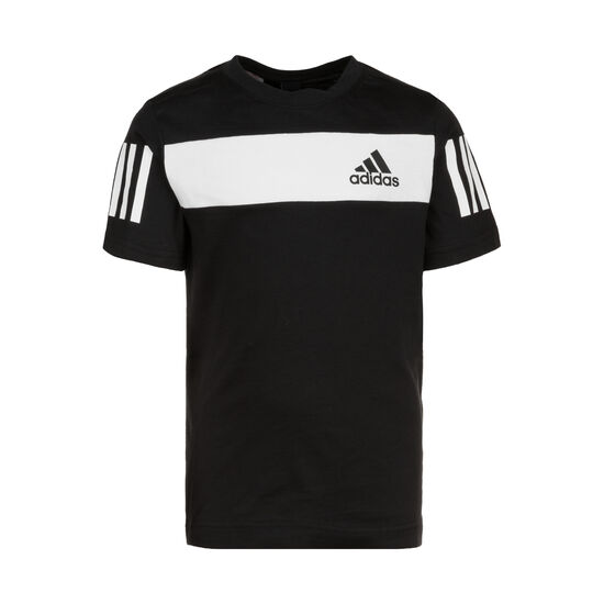 Sport ID Trainingsshirt Kinder, schwarz / weiß, zoom bei OUTFITTER Online