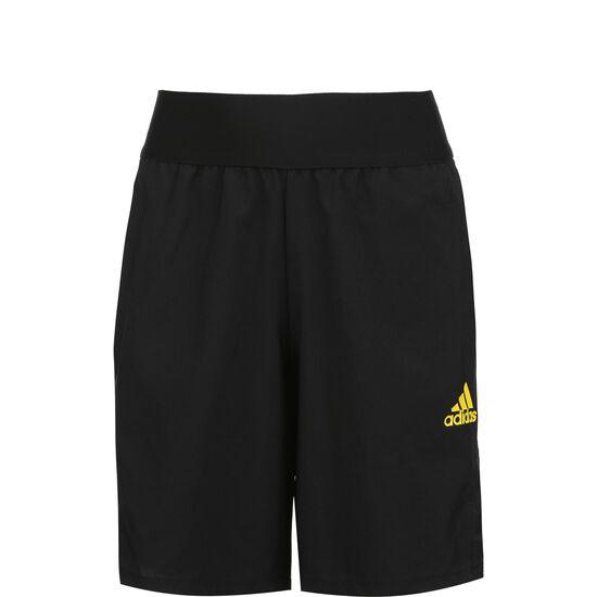 Football-Inspired Predator Shorts Herren, schwarz, zoom bei OUTFITTER Online