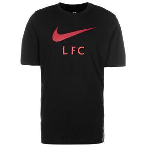 FC Liverpool Swoosh Club T-Shirt Herren, schwarz / rot, zoom bei OUTFITTER Online