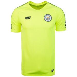 Manchester City Breathe Squad Trainingsshirt Herren, neongelb / blau, zoom bei OUTFITTER Online