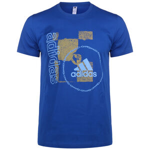 Wanted Art T-Shirt Herren, blau, zoom bei OUTFITTER Online