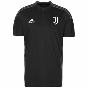 Juventus Turin Poloshirt Herren, dunkelgrau / grau, zoom bei OUTFITTER Online