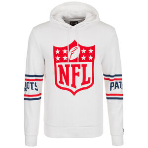 NFL Badge New England Patriots Kapuzenpullover Herren, weiß, zoom bei OUTFITTER Online