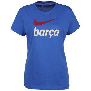 FC Barcelona Swoosh Club T-Shirt Damen, blau / rot, zoom bei OUTFITTER Online