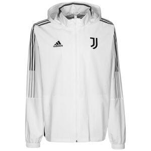 Juventus Turin All Weather Jacke Herren, weiß / grau, zoom bei OUTFITTER Online