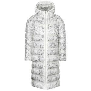 Marble EcoDown Wintermantel Damen, weiß / grau, zoom bei OUTFITTER Online