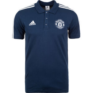 Manchester United 3S Poloshirt Herren, Blau, zoom bei OUTFITTER Online