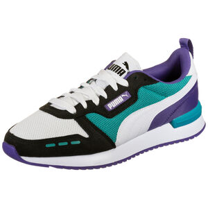 R78 Sneaker Herren, weiß / türkis, zoom bei OUTFITTER Online