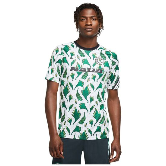 Nigeria Breathe Trainingsshirt Herren, grün / schwarz, zoom bei OUTFITTER Online