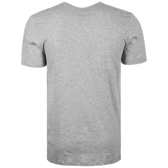 Large Logo T-Shirt Herren, grau / weiß, zoom bei OUTFITTER Online