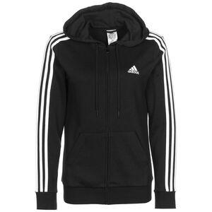 Essential 3-Stripes Kapuzenjacke Damen, schwarz, zoom bei OUTFITTER Online