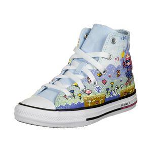 Chuck Taylor All Star Gamer Sneaker Kinder, hellblau / bunt, zoom bei OUTFITTER Online