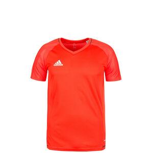 Tiro 17 Trainingsshirt Kinder, orange / weiß, zoom bei OUTFITTER Online