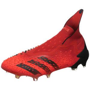 Predator Freak + FG Fußballschuh Herren, rot / schwarz, zoom bei OUTFITTER Online