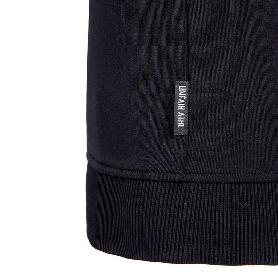 Canvas Striped Kapuzenjacke Herren, schwarz / dunkelgrün, zoom bei OUTFITTER Online