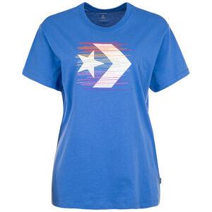 Rainbow Thread Icon Remix T-Shirt Damen, blau / bunt, zoom bei OUTFITTER Online