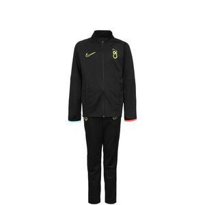 CR7 Trainingsanzug Kinder, schwarz / türkis, zoom bei OUTFITTER Online