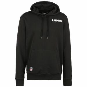 NFL Las Vegas Raiders Logo Kapuzenpullover Herren, schwarz / weiß, zoom bei OUTFITTER Online
