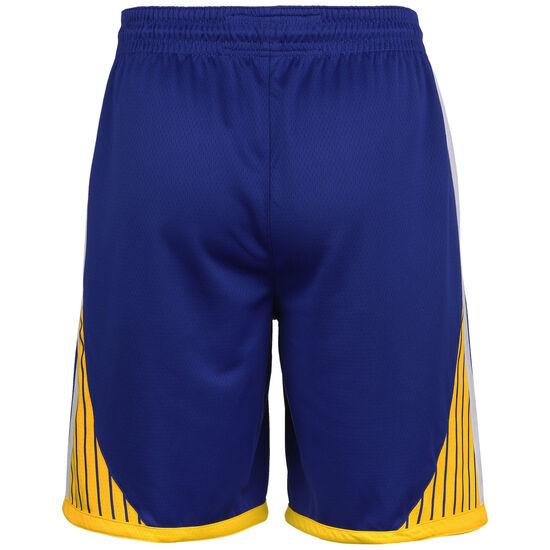 NBA Golden State Warriorss Icon Edition Swingman Short Herren, blau / gelb, zoom bei OUTFITTER Online
