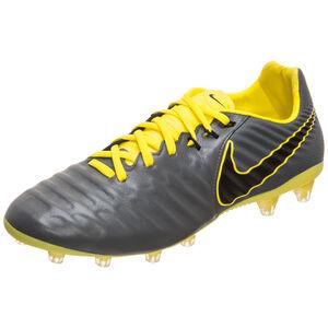 Tiempo Legend VII Pro AG-Pro Fußballschuh Herren, dunkelgrau / gelb, zoom bei OUTFITTER Online