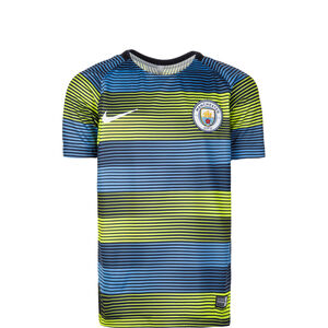 Manchester City Dry Squad GX 2 Trainingsshirt Kinder, Blau, zoom bei OUTFITTER Online