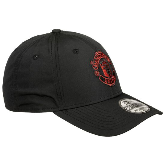 39THIRTY Manchester United Poly Cap, schwarz / rot, zoom bei OUTFITTER Online