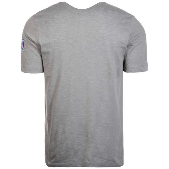 Paris St.-Germain T-Shirt Herren, grau / dunkelblau, zoom bei OUTFITTER Online