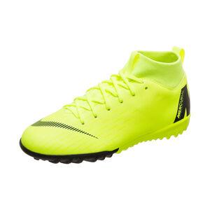 Mercurial SuperflyX VI Academy TF Fußballschuh Kinder, neongelb / schwarz, zoom bei OUTFITTER Online