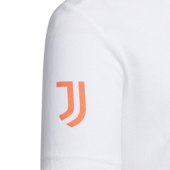 Juventus Turin Graphic T-Shirt Kinder, weiß / schwarz, zoom bei OUTFITTER Online