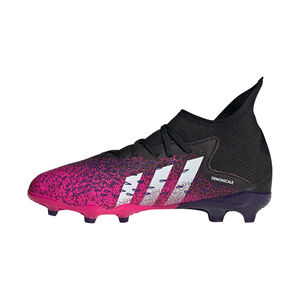 Predator Freak .1 FG Fußballschuh Kinder, schwarz / pink, zoom bei OUTFITTER Online