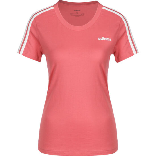 Essentials 3S T-Shirt Damen, rosa / weiß, zoom bei OUTFITTER Online