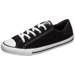 Chuck Taylor All Star Dainty Low Ox Sneaker Damen, schwarz / weiß, zoom bei OUTFITTER Online