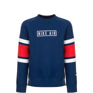 Air Crew Sweatshirt Kinder, blau / rot, zoom bei OUTFITTER Online