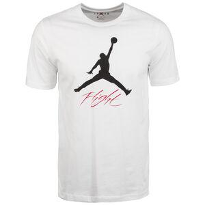 Jumpman Flight Hybrid T-Shirt Herren, weiß / schwarz, zoom bei OUTFITTER Online