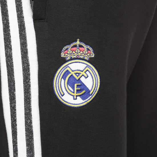 Real Madrid Icons Trainingshose Herren, schwarz / weiß, zoom bei OUTFITTER Online