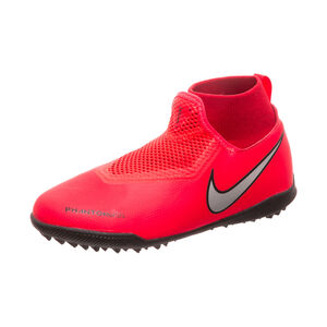 Phantom Vision Academy DF TF Fußballschuh Kinder, neonrot / silber, zoom bei OUTFITTER Online