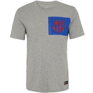 FC Barcelona Crest T-Shirt Herren, grau / blau / rot, zoom bei OUTFITTER Online
