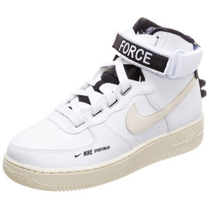 Air Force 1 High Utility Sneaker Damen, weiß / beige, zoom bei OUTFITTER Online