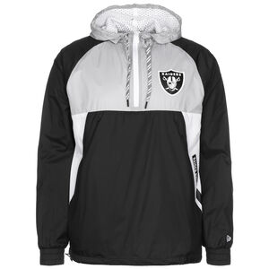 NFL Las Vegas Raiders Ripstop Windbreaker Herren, schwarz / hellgrau, zoom bei OUTFITTER Online