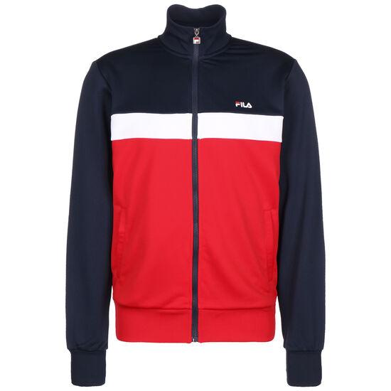 Sanga Track Jacke Herren, rot / dunkelblau, zoom bei OUTFITTER Online