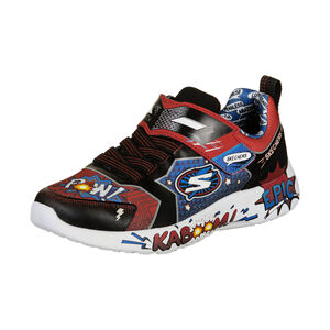 Dynamight Defender Squad Sneaker Kinder, schwarz / rot, zoom bei OUTFITTER Online