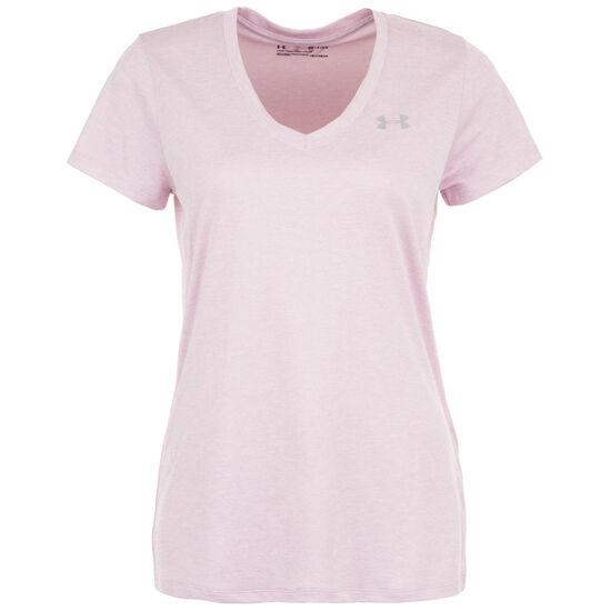 HeatGear Tech Twist Trainingsshirt Damen, altrosa, zoom bei OUTFITTER Online