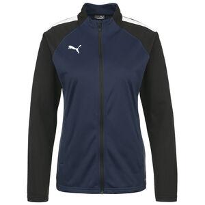 TeamLIGA Trainingsjacke Damen, dunkelblau / weiß, zoom bei OUTFITTER Online