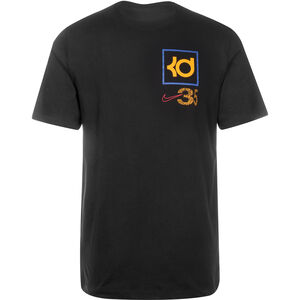 KD Dry Basketballshirt Herren, schwarz / bunt, zoom bei OUTFITTER Online