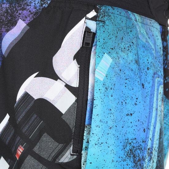 Epic AOP Trainingsshort Herren, schwarz / blau, zoom bei OUTFITTER Online