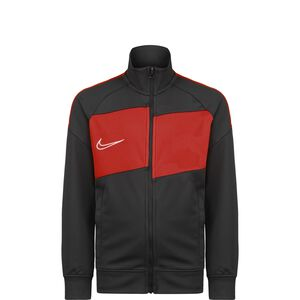 Academy Trainingsjacke Kinder, anthrazit / rot, zoom bei OUTFITTER Online