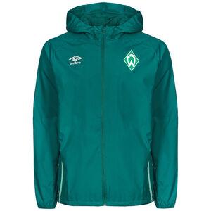 SV Werder Bremen Regenjacke Herren, dunkelgrün / hellgrün, zoom bei OUTFITTER Online